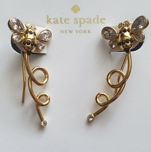 Kate Spade Gold Honey Bee Earrings
